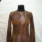 """Теплий пуловер трикотажний розпродаж """"клапті""""молодежкаподросток, фото 5"""