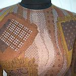 """Теплий пуловер трикотажний розпродаж """"клапті""""молодежкаподросток, фото 4"""