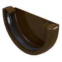 Devorex Classic 120 Заглушка желоба-коричневый