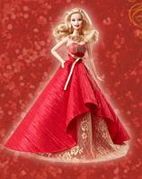 Коллекционная кукла Барби Праздничная 2014 Holiday Barbie Doll