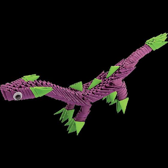 """Модульное оригами """"Динозаврик"""""""