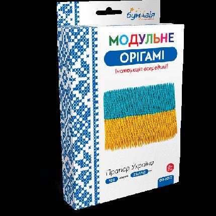 """Модульное оригами """"Флаг Украины"""", фото 2"""