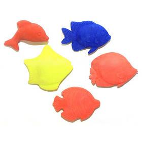 """Игрушка-напухашка """"Рыбы"""" на планшете (20шт)"""