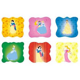 Магниты мягкие (набор 6 шт.) Принцессы