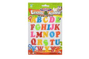 Магнітні букви 8301 Англійські
