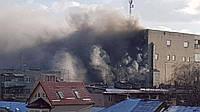 Во Львове горит один из старейших заводов: есть пострадавшие (ФОТО, ВИДЕО)