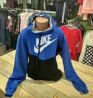 Спортивная кофта Nike на мальчика с капюшоном на 5-12 лет