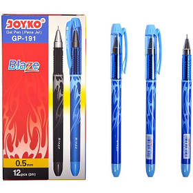 Ручка гелева Joyko Blaze синя