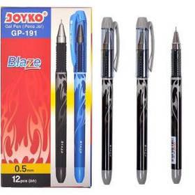 Ручка гелева Joyko Blaze чорна