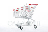 Тележки для супермаркета с поддоном