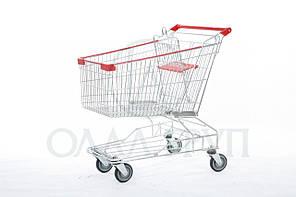 Тележки для супермаркета с поддоном, фото 2