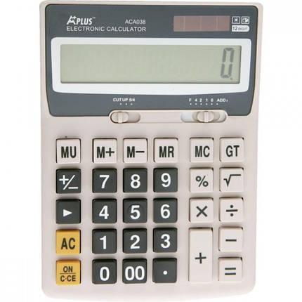 """Калькулятор бухгалтерский """"BEIFA"""" ACA038 (12 разрядный), фото 2"""