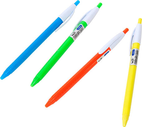 Ручка Beifa КВ139401 автоматическая синяя (в картонной коробке), фото 2