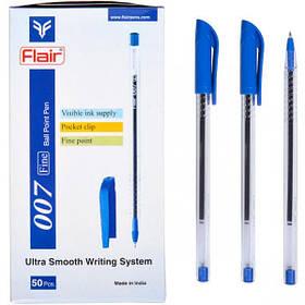 "Ручка кулькова Flair ""007 Ultra"" (873) синя"
