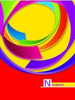 "Блокнот А6 в тв. переплете ""NOTEBOOK"" 48 л, фото 2"