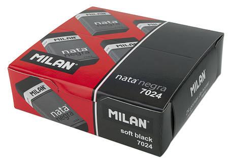 Ластик Milan 7024 Nata Negra прямоугольный (B-8B) 2.7*5 см., фото 2