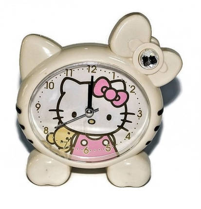 """Часы-будильник """"Hello Kitty"""", фото 2"""