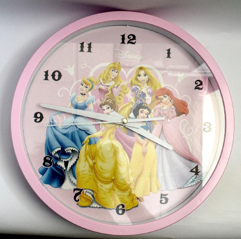 """Часы настенные """"Принцессы"""""""
