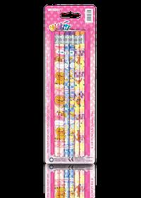 "Олівці прості 6 шт ""MARCO"" Colorite з ластиком 1000EP-6BL"