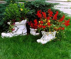 Вазон садовый для цветов «Башмак» маленький, фото 2
