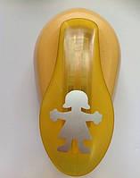 Дырокол фигурный для детского творчества CD-99M №35 Девочка