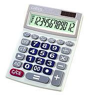 """Настольный калькулятор """"EATES"""" DC-690 (12 разрядный, 2 питания)"""