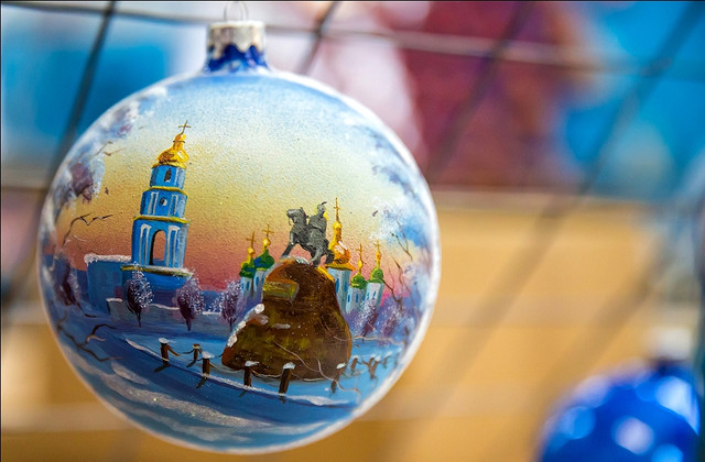 Экспорт украинских елочных игрушек превысил 4 миллиона долларов