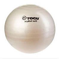 Гимнастический мяч TOGU My Ball Soft 55 см (кремовый)