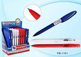 Ручка масляная Piano Twist PB-1151 поворотная (синяя)