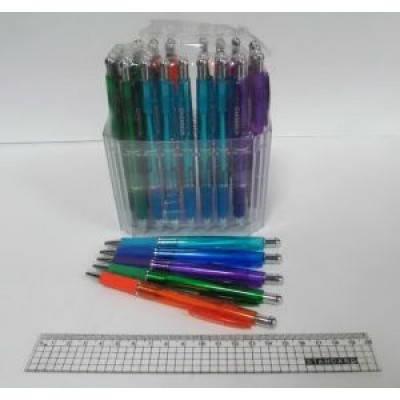 Ручка шариковая Winning WZ-2078C автоматическая (в пласт. дисплее), фото 2