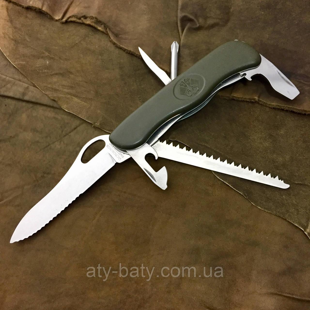 Продам нож бундесвера производства victorinox ножницы аллигаторные.н-2732