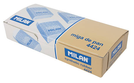 Ластик Milan 4424 прямоугольный (B-8B), фото 2
