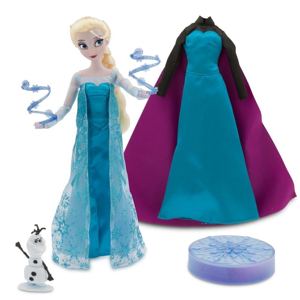 Эльза поющая кукла принцесса Холодное сердце в подарочной коробке с аксессуарами ДИСНЕЙ / DISNEY