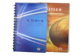 """Блокнот на спирали (A6) ZY-501 """"Notebook"""" боковая спираль (50 листов)"""