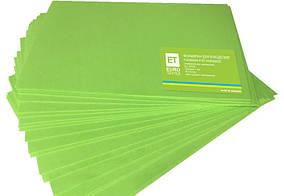Фоамиран світло-зелений 20 аркушів (1мм/20х30см)