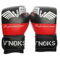Боксерские перчатки V`Noks Potente Red 12 ун, фото 1