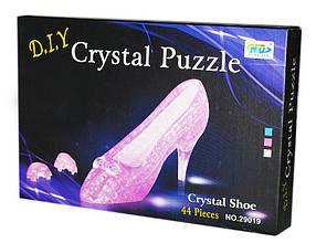 """Пазлы 3D кристальные """"Туфелька"""""""