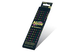 """Олівці кольорові 6 кольорів """"MARCO"""" NEON 5500B-6CB"""