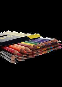 """Олівці кольорові 24 кольори """"MARCO"""" Superb Writer 4100-24CB"""