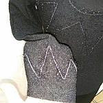 Полувер нарядный черный вязанный букле со стразами и декольте распродажа, фото 7