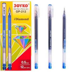 Ручка гелева Joyko Diamond синя