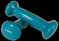 Гантели виниловые 0,5 кг (пара)