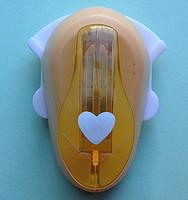 Дырокол фигурный для детского творчества CD-99MA №4 Сердце угловой