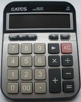 """Настольный калькулятор  """"EATES"""" BM-007 (12 разрядный, 2 питания)"""
