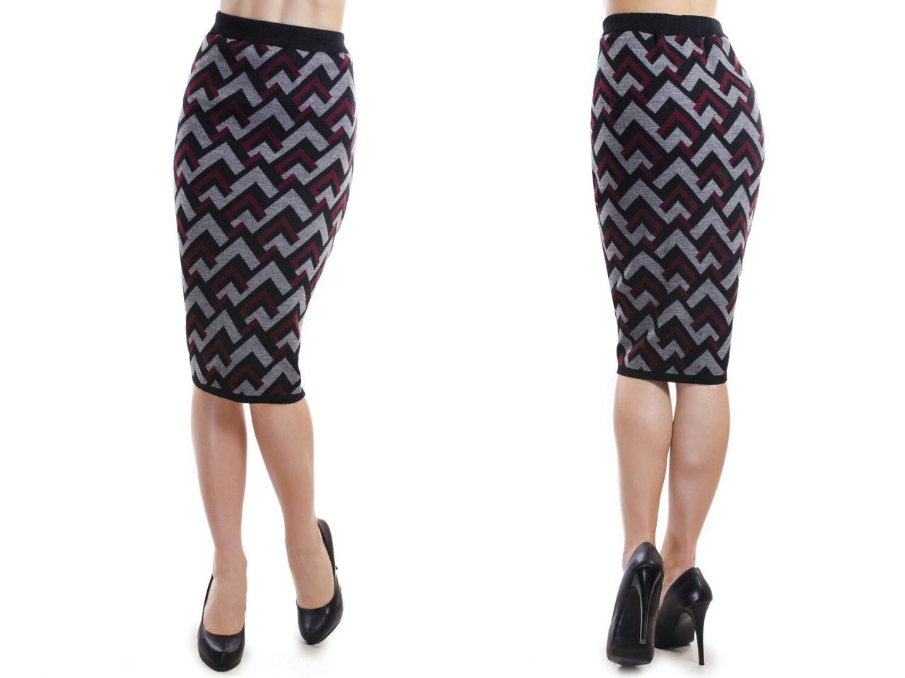 Модная элегантная юбка