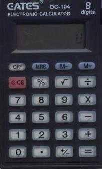 """Кишеньковий калькулятор """"EATES"""" DC-104 (8 розрядний, з кришкою, 1 харчування), фото 2"""
