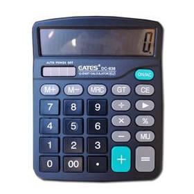 """Настільний калькулятор """"EATES"""" DC-838 (12 розрядний, 2 живлення)"""