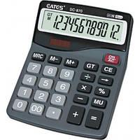 """Настольный калькулятор  """"EATES"""" DC-870 (12 разрядный, 2 питания)"""