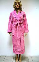 Махровый бамбуковый халат Nusa 8310 Сиреневый