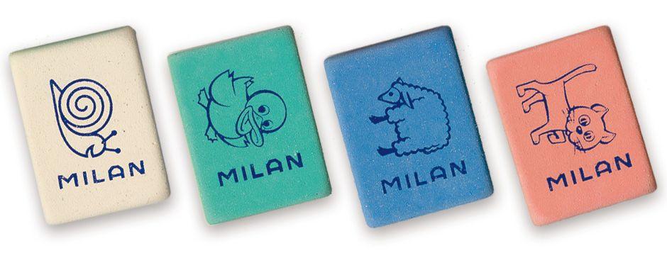 Ластик Milan 445 Miga de pan прямоугольный (B-8B)